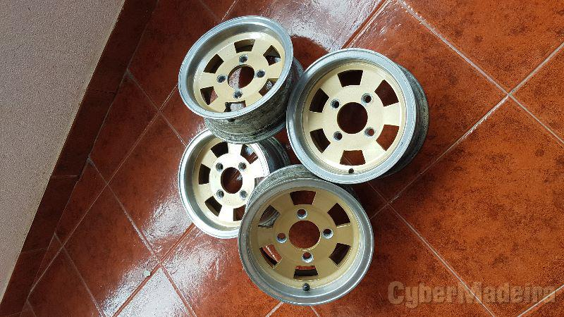 "Jantes r10 mini sport10"" sem pneus"