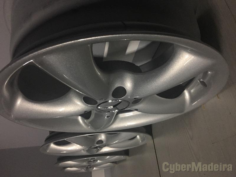 "Jantes Mercedes 17"" sem pneus"