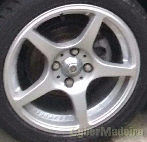 """Jantes 15"""" sem pneus"""