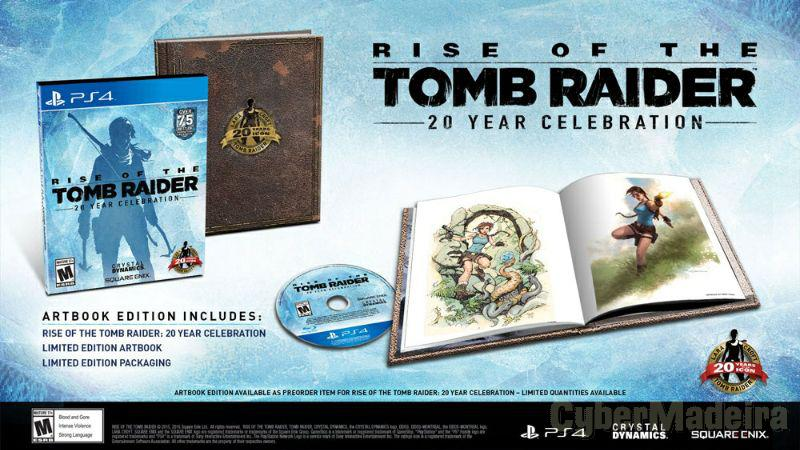 PS4 rise of tomb raider Aventura