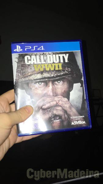 Call of duty WW2 - PS4 como novo Guerra