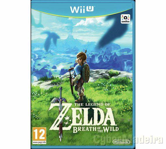 Zelda breath of the wild wii U Aventura