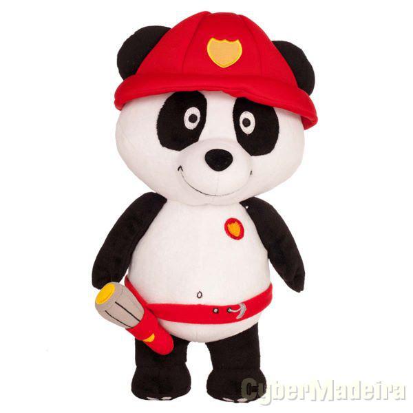 Peluche panda bombeiro