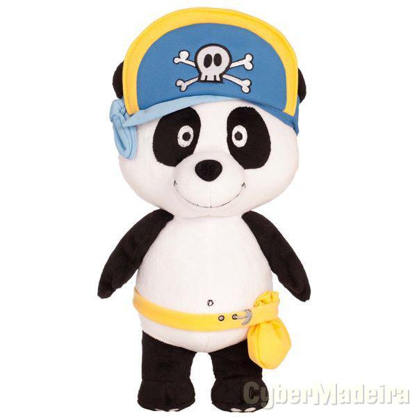 Peluche panda pirata
