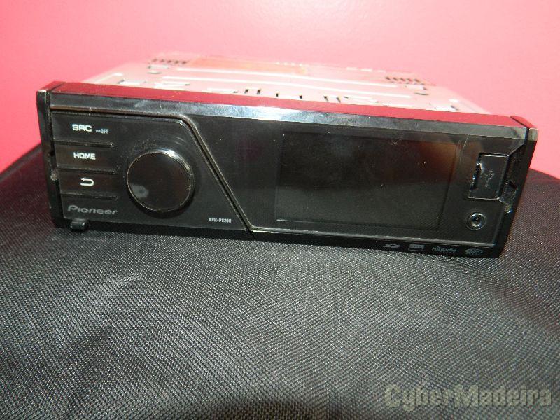 Autoradio Pioneer MVH-P8200 boas condições