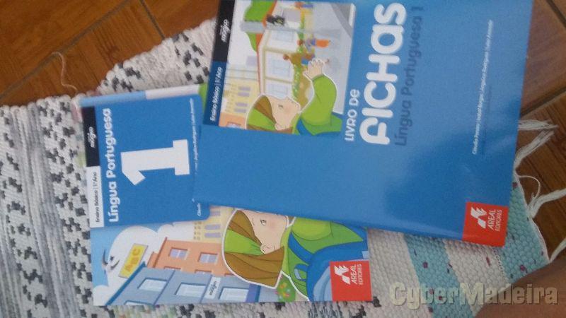 Livros novos 1ª Classe Português