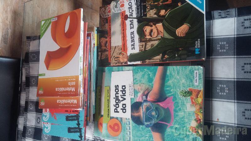 Livros escolares 6ºAno Escola da Levada6º Matemática