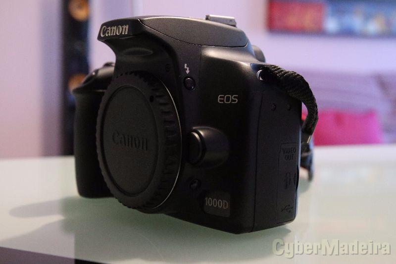 Canon eos 1000D   corpo + 2 baterias + bolsa Canon