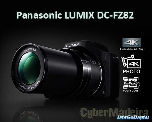 Panasonic fz82 60x zoom optico (com apenas 2 meses)Panasonic