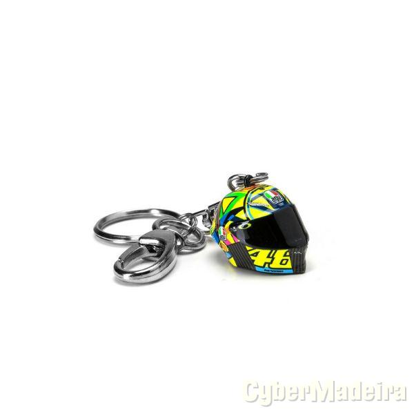 Porta chaves capacete 3D VR46 Clasic