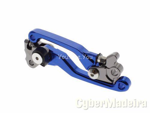 Manetes para mota azuis