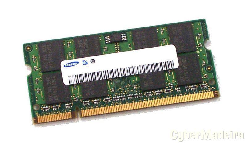 Kit memórias de Portátil 4GB (2x2GB) DDR2 800Mhz - Marca Samsung