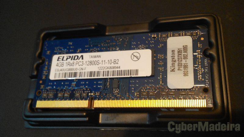 Kingston 4GB DDR3 1600MHZ - 12800
