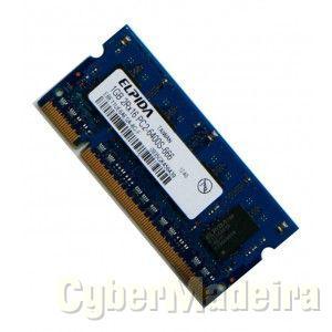 Duas Memórias RAM 1GB DDR2 (Portátil)