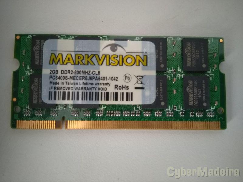 MEMORIA MARKVISION 2GB DDR2 800