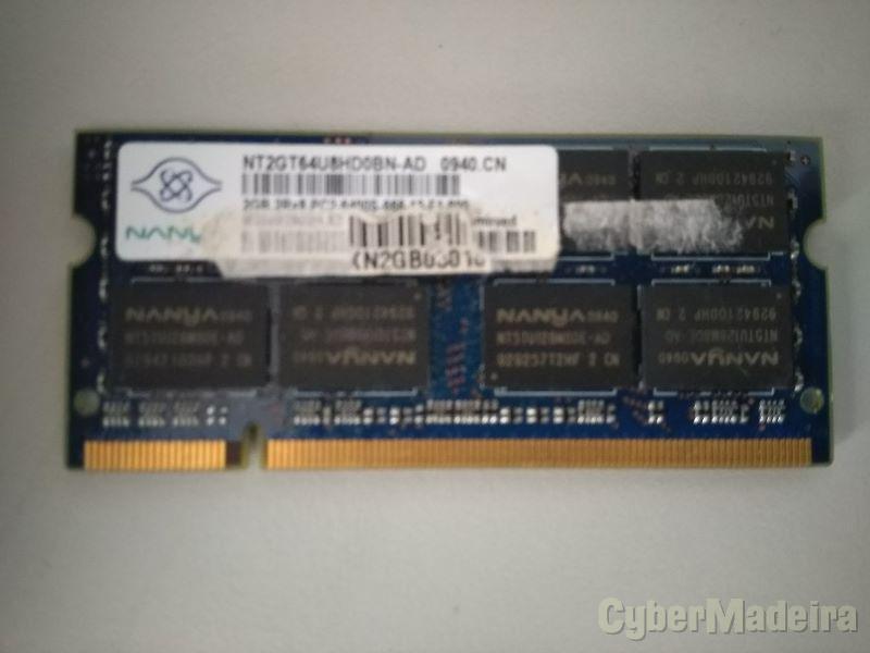 MEMORIA NANYA 2GB DDR2 800