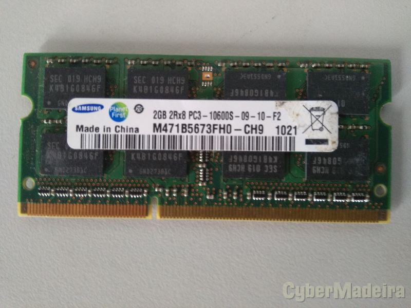 MEMORIA SAMSUNG 2GB DDR3 1333