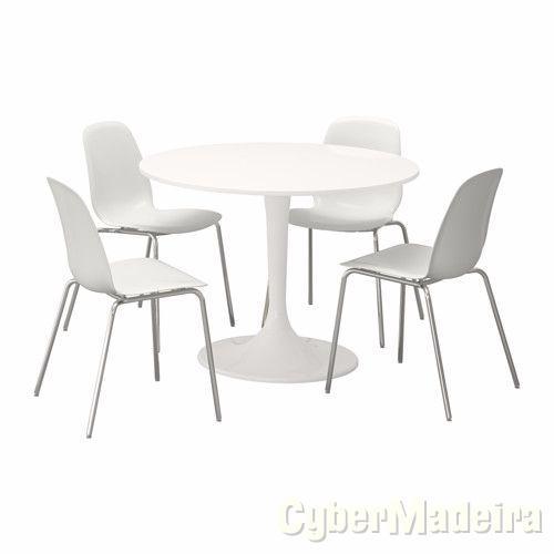 Mesa ikea E 4 cadeiras