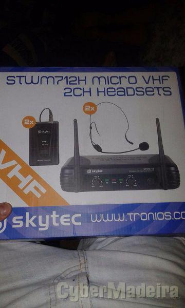 Microfones de cabeça como novos  pela melhor oferta