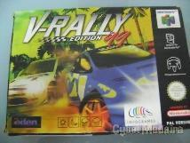 Jogo Nintendo 64 V-Rally Edition 99 Simulador de Corridas