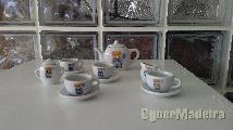 Serviço de chá de louça para brincar
