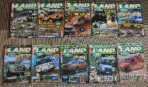 Revistas e outros materiais Land Rover