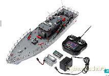 Barco de guerra radio modelismo novo