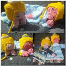 Brinquedos originais em crochet