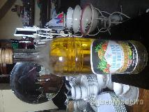 Garrafa antiga de licor