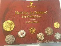 Moedas E notas de portugal