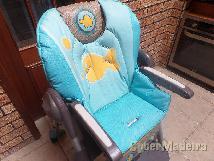 Cadeira de refeição de bebe   criança