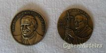 Medalhas comemorativas - joão paulo ii
