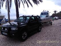 Opel frontera + barco riamar cabe 600