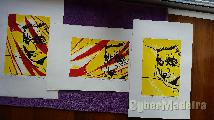 Técnica mista limo gravura corrosão xilogravura david ferreira 2003