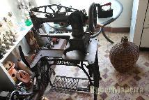 Maquina de costura de sapateiro.
