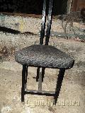 Cadeiras em ferro