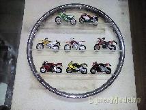 Coleção de 7 motos
