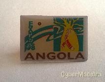 Pin do pavilhão de angola na EXPO98