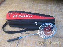 Raquete E bolsa de badminton