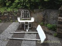 Big game fighting chair