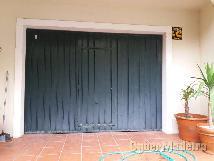 Portão basculante para garagem c motor E comando  2 90 x 2 15
