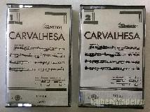 Carvalhesa em dupla cassete áudio