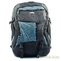 "Targus atmosphere 17-18"" xl laptop backpack - black blue"