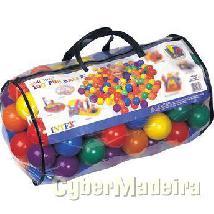 Sacos de bolas multicolores