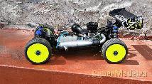 Kyosho inferno kit 1 8  c  motor rtr E eletronica E radio