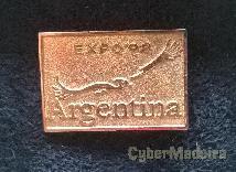 Pin do pavilhão da argentina na EXPO98