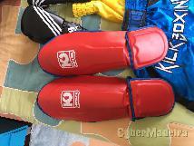 Kickboxing muaythai luvas  caneleiras  calcoes E ligaduras