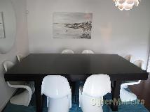 Mesa de refeição  quadrada  1 50*1 50  extensível  2 50*1 50
