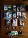 13 jogos para psp + camera psp + bolsa psp + carregador para O carro psp + 3 capinhas para jogos psp Outros