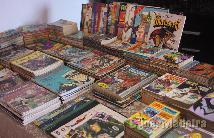 Colecção de banda desenhada de 632 livros